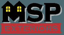 MSP Exteriors Logo